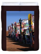 Cadillac Ranch Route 66 Duvet Cover