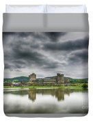 Caerphilly Castle North View 1 Duvet Cover