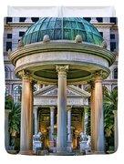 Caesar Columns Duvet Cover