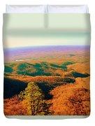 Caesars Head State Park Duvet Cover