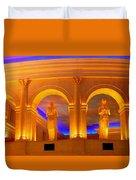 Caesar's Lobby - A C Duvet Cover