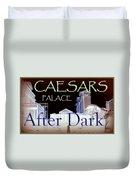 Caesars Palace After Dark Duvet Cover