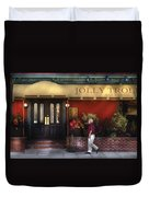 Cafe - Jolly Trolley Duvet Cover