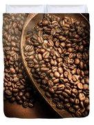 Cafe Aroma Art Duvet Cover