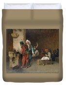 Cafe House, Cairo  Duvet Cover