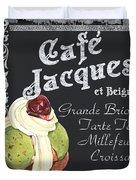 Cafe Jacques Duvet Cover
