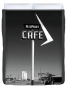 Cafe Midpoint Duvet Cover