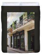 Cafe O'reilly Duvet Cover