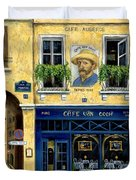 Cafe Van Gogh Duvet Cover