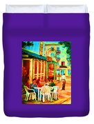Cafe Vienne Duvet Cover
