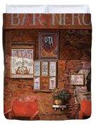caffe Nero Duvet Cover