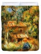 Cagnes Landscape 1 Duvet Cover