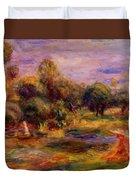 Cagnes Landscape 1908 Duvet Cover
