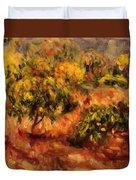 Cagnes Landscape 1919 Duvet Cover