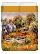 Cagnes Landscape 2 Duvet Cover