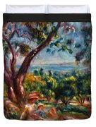 Cagnes Landscape With Woman And Child 1910 Duvet Cover