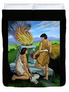 Cain And Abel Duvet Cover