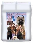 Cairn Terrier Art Canvas Print - Best In Show Movie Poster Duvet Cover