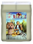 Cairn Terrier Art Canvas Print - The Wizard Of Oz Movie Poster Duvet Cover