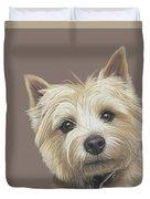 Cairn Terrier - Dave Duvet Cover