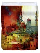 Cairo Egypt Art 01 Duvet Cover