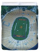 Cal Memorial Stadium Duvet Cover