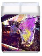 Calf Cow Maverick Farm Animal Farm  Duvet Cover