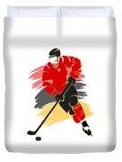 Calgary Flames Player Shirt Duvet Cover