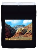 Calico Basin Nevada Duvet Cover
