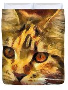Calico Cat Duvet Cover