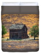 Calico Grass  Duvet Cover