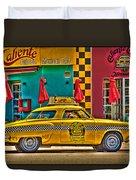 Caliente Cab Co Duvet Cover