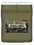 California Academy Of Sciences Living Roof In San Francisco Duvet Cover