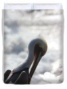 California Brown Pelican 1 Duvet Cover