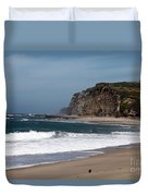 California Coast - Blue Duvet Cover