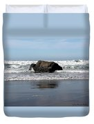 California Coast Ocean Waves 2 Duvet Cover