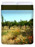 California Cuvee Duvet Cover