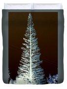 California High Sierra Pine Tree Duvet Cover