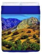 California Hills Duvet Cover