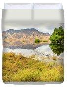 California Kaweah Lake Scene Duvet Cover