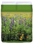 California Meadow Duvet Cover