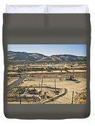 California Oil Field 14pdxl084 Duvet Cover
