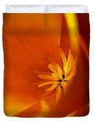 California Poppy 1 Duvet Cover