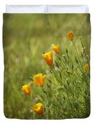 California Poppy Duvet Cover