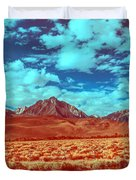 California Postcards One Duvet Cover
