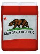 California Republic Flag Duvet Cover