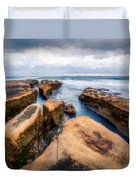 California Rocks Duvet Cover