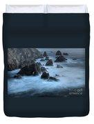 California Rocky Coastline Duvet Cover