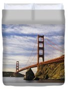 California, San Francisco Duvet Cover