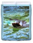 California Sea Lion-1611 Duvet Cover